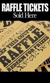 raffle sign raffle tickets sponsor sign golf digest tournament shop