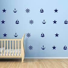 Sailboat Anchors Decals Starfish Helm ...