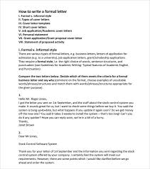 sample basic letter format title of cover letter cover page for sample official letter formats 8 documents in pdf