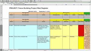 Project Risk Management Template Project Risk Management YouTube 1