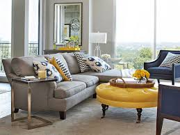 Grey And Yellow Living Room Design Traditional Decorating Traditional Home Living Room Decorating