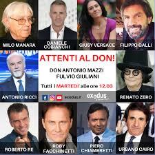 """Arriva """"Attenti al Don"""", un nuovo programma di don Antonio Mazzi"""