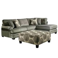 100 leather furniture for inch sectional sofa sierra smoke gray padded microfiber genuine