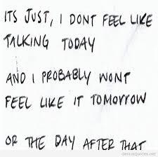Sad Depressing Quotes New Feeling Sad Quotes
