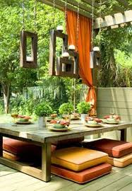 like the idea for table and floor seating outdoor tablesoutdoor diningoutdoor