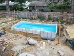 above ground pool with deck surround. Above Ground Pool With Deck Surround O