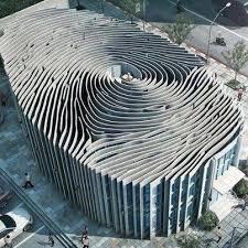 cool architecture design. thailand. fingerprint building. #amazing #architecture #monochromatic cool architecture design i
