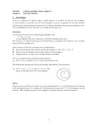 Venn Diagram Empty Set Ma1200 Chapter 2 Sets And Functions Cityu Studocu