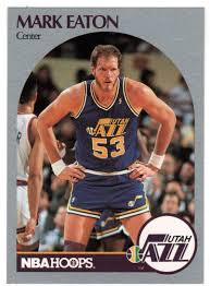 Amazon.com : Mark Eaton - Utah Jazz (Basketball Card) 1990-91 Hoops # 287  Mint : Sports & Outdoors