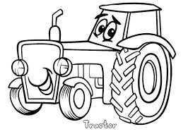 Small Picture Tractor Coloring Pages Coloring Coloring Pages