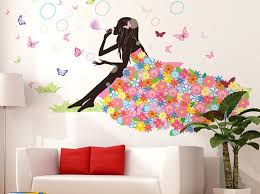 wall decal tree little girl girly