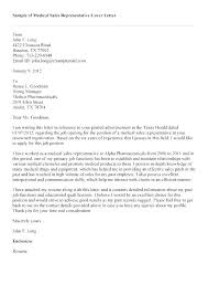 Cover Letter For Sales Position Cover Letter Sales Representative No ...