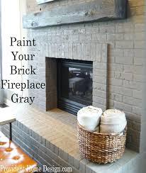 chalk paint fireplace heat tile uk surround ideas brick painting