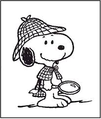 Small Picture 4540 best Coloring pages Snoopy images on Pinterest Peanuts
