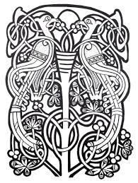 Are you from ireland, scotland or the british isles? Complex Abstract Celtic Art Design From Paul K Collection Celtic Coloring Celtic Art Celtic Designs