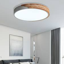 round ceiling flush mount nordic style