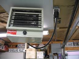 wiring garage heaters the garage journal board the socket will be mounted flush in the now shop since there will be sheetrock but here s how it looked in the old shop