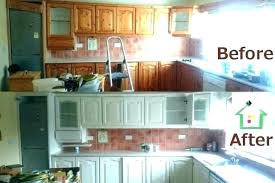 white painted kitchen cabinets before after kitchen cabinets