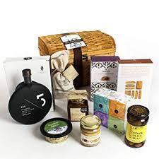 kabloom gift basket collection greek food lover s gourmet gift chest of olive oil es
