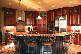 kitchens with painted black cabinets. Exellent Kitchens Corner Oriented Kitchen Features Cherry Wood Cabinetry Floor To Ceiling  With Large Cshaped In Kitchens With Painted Black Cabinets