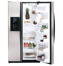 """ge profile arcticaâ""""¢ 25 3 cu ft stainless side by side product image product image"""