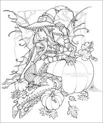 Small Picture 159 best Coloring Pages Autumn Halloween Pumpkins Witches