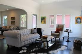 mid century modern eclectic living room. Modern Eclectic Living Room Art In A Traditional On Mid Century S
