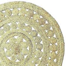 pottery barn round jute rug reviews chevron navy new target chenille