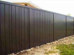 fence panels designs. Black Corrugated Metal Fence Panels Spectacular Ideas Throughout Renovation Designs