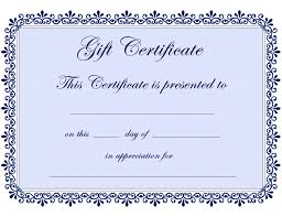 Online Gift Certificate Template Certificate Templates Gift Certificate Template Free PDF 21