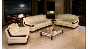 f best of luxury ivory leather italian sofa set with brown accentuate unify combination on the side arms and stylish glass top rectangle coffee table awesome italian sofas