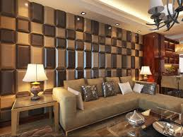 Small Picture 3D Leather Tiles for Living Room Wall Designs Modern Living