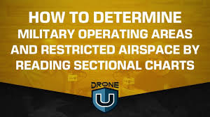 How To Determine Military Operating Areas And Restricted Airspace By Reading Sectional Charts