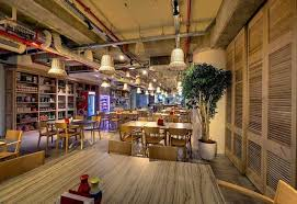 traditional office corridors google. The Office Has Three Distinct And Fully-equipped Themed Restaurants To Keep Employees Fed. Being In Israel, For Lunch Googlers Can Choose From Traditional Corridors Google