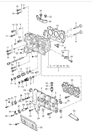 porsche 996 engine head gasket 99610420104 99610420104 design 911 porsche boxster cayman 996 997