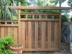 japanese fence - Google Search