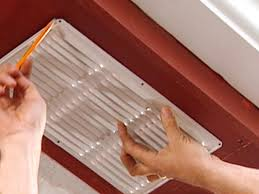 soffit vent installation. Modren Vent Use Vent Itself As Template For Where To Cut For Soffit Vent Installation
