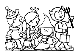 Small Picture Preschool Halloween Coloring Pages for Kids Free Coloring Pages
