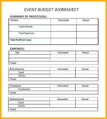 Sample Excel Document Sample Event Budget Template Excel Spreadsheet Collections