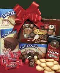 philadelphia gift baskets philly tower of treats tastykakes flyers