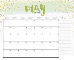free printable may 2018 desk calendar