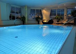 1 beautiful indoor pools with the proper lighting can give off this beautiful lighting pool