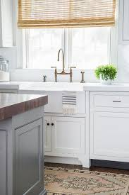 Chelsea Gray Island White Dove Cabinets Both Bm Renovated Home