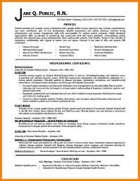12 Example Resume For Registered Nurse Martini Pink