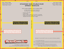 books readycomics com page 2 standard size double page sp template
