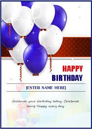 how to create a birthday card on microsoft word happy birthday invitation cards wblqual com