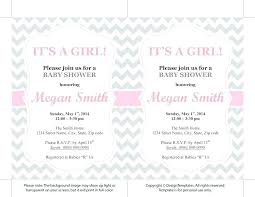 Invitation Template For Word Impressive Free Baby Shower Invitation Templates Cafe48