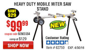 harbor freight miter saw. heavy duty mobile miter saw stand harbor freight