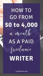 looking for a way to break into lance writing list  how to become a lance writer and earn 4 000 a month