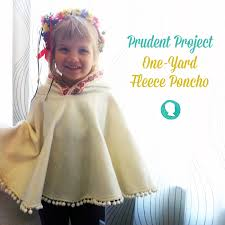 Fleece Poncho Pattern With Hood